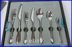 Robert Welch Bud Stainless Steel Cutlery Set 56 Piece/8 Place Settings