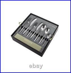 Robert Welch Hidcote Bright 42 Piece Cutlery Set For 6 People