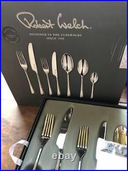 Robert Welch Iona Cutlery Set, 56 Piece/8 Place Settings John Lewis £300