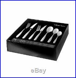 Robert Welch Stanton Bright 56 Piece Cutlery Set Gift Boxed