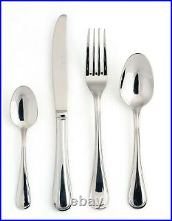 Royal Doulton Veneto 58 Piece 18/10 Stainless Steel Cutlery Set Brand New