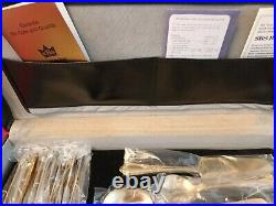 Sbs Bestecke 23/24 Carat Gold Plated 70 Pcs Cutlery Set In Briefcase
