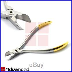 Set of 13 Orthodontic Instruments Bracket Removing Placing Pliers Wire Bending