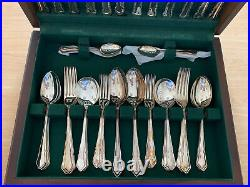 Slack & Barlow Stainless Steel 44 Piece Cutlery Set Canteen