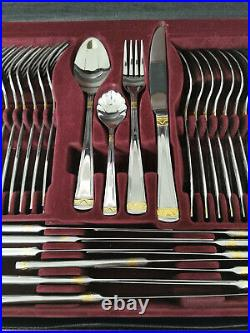 Solingen Rosenbaum 72 Piece Stainless Steel Cutlery Set In Official Coded Case