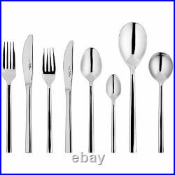 Stellar James Martin Polished Stainless Steel, 44 Piece, 6 Placing Cutlery Set