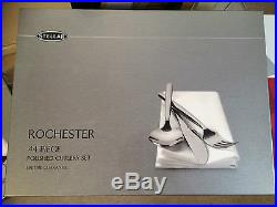 Stellar Rochester Polished 44 Piece Cutlery Boxed Sets BL58 TWO SETS