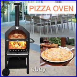 UK Pizza Oven Set withBread Peel Cutter Outdoor Garden Patio Barbecue Cooking BBQ