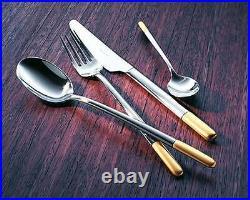 VILLEROY & BOCH Ella Partially Golden Cutlery 30 Pieces Dealer
