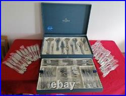 Villeroy & Boch MEDINA cutlery 94 piece 12 place setting in pristine condition