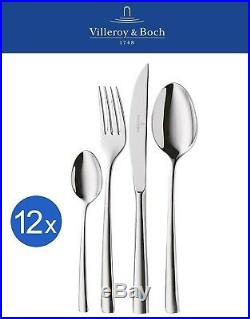 Villeroy & Boch Piemont Cutlery Set 48 Pieces High Quality 18/10 Stainless Steel