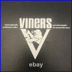 Viners Cutlery Set 24 Piece Silver Plated Stainless Steel Kings Pattern 17118 CP