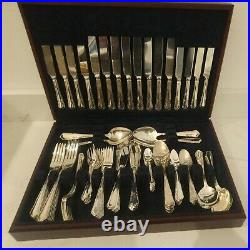 Viners Dubarry Stainless Steel 100 Piece Canteen complete large 8 person cutlery