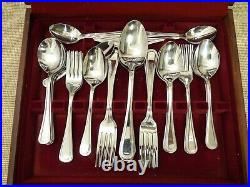 Viners Parish Stainless Steel Cutlery Set 43 Piece Canteen Thames Hospice