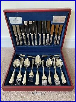 Viners Viscount 18/10 Stainless Steel 88 Piece Canteen Cutlery Set New (other)