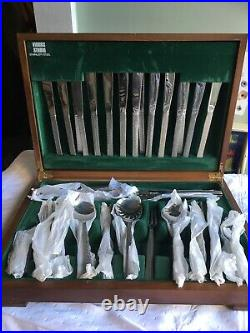 Vintage Viners Studio Gerald Benny Bark Stainless Steel Cutlery 81 Pieces