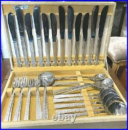 Vintage Viners Studio canteen cutlery 38 pieces in original box 6 place setting