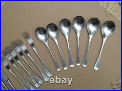 Vintage retro Old Hall cutlery set 30 pieces see pictures