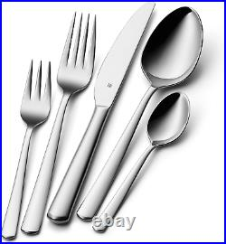 WMF Boston Cromargan Cutlery Set for 12 People, stainless steel, Silver, 49 x 39