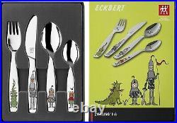 Zwilling Ritter Eckbert 4 Piece 18/10 Stainless Steel Childrens Cutlery Set